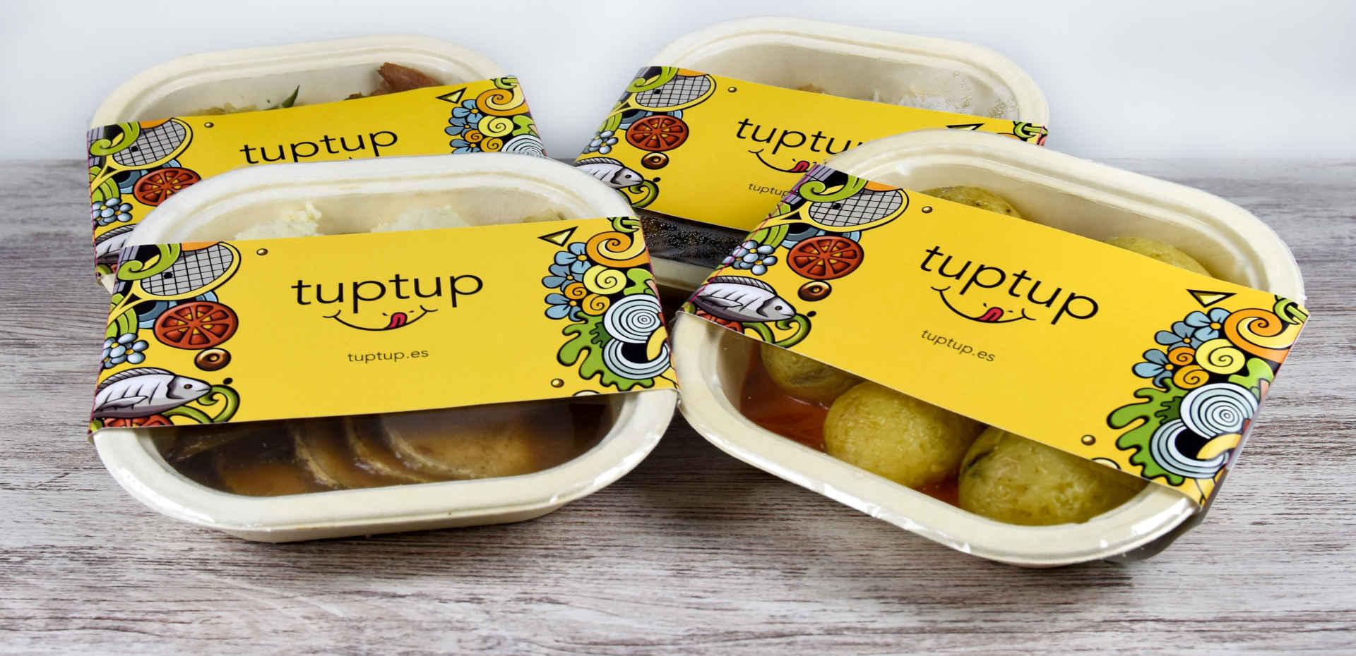 Tuppers de comida TupTup