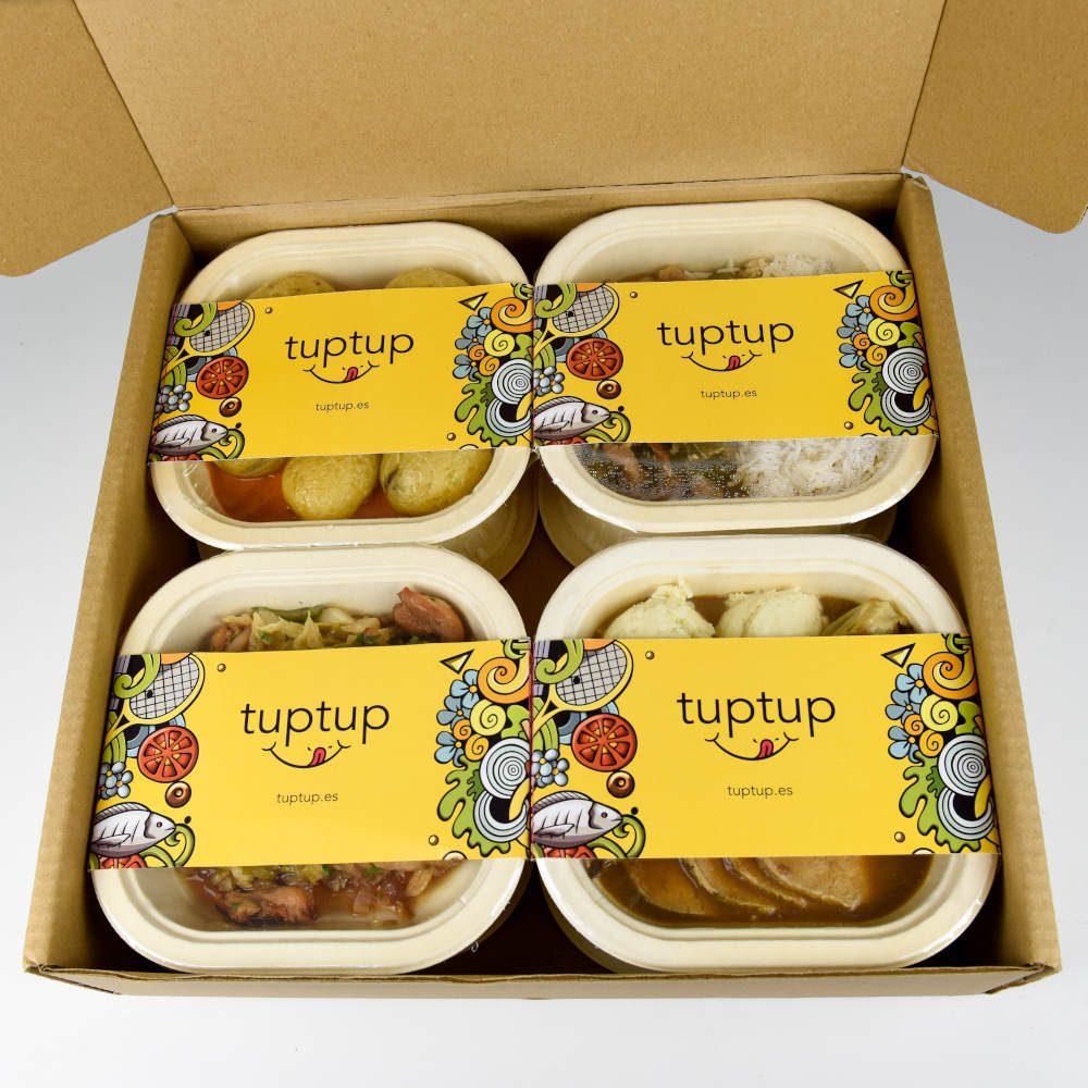 ventajas de pedir un Tup caja tuppers tapers a domicilio