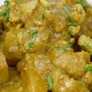 Curry de coliflor y patata