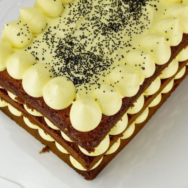 Tarta de Limon y Semillas de Amapola