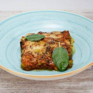 Parmigiana tuptup comida a domicilio