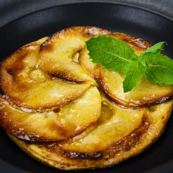 tarta casera de manzana tuptup comida a domicilio