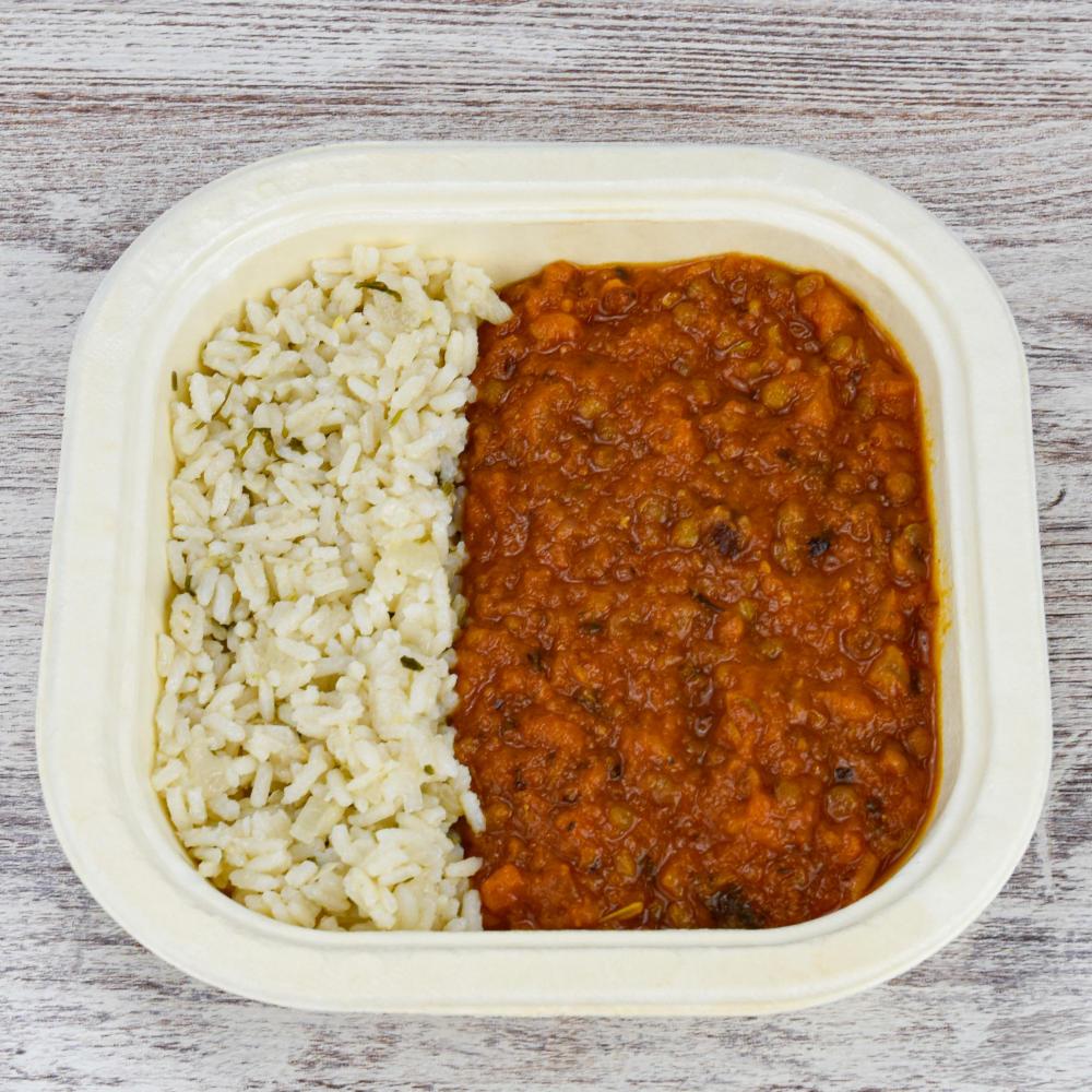 Vegan red chili tuptup comida a domicilio